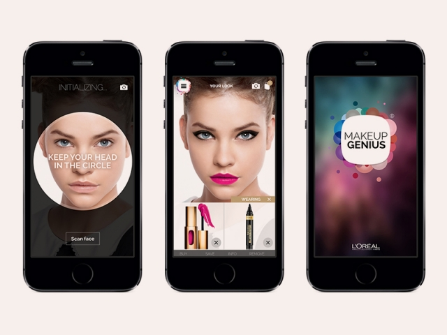 бьюти-приложение макияж