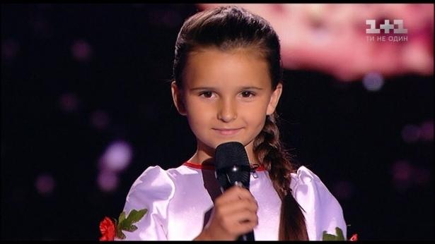 Аня Клименко. Голос Діти 4 сезон