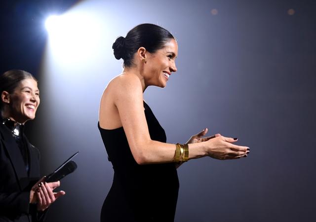 Меган Маркл на Fashion Awards
