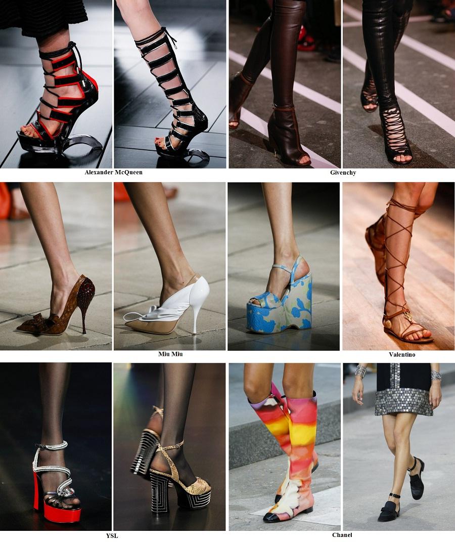 Что в моде из обуви весной 2018