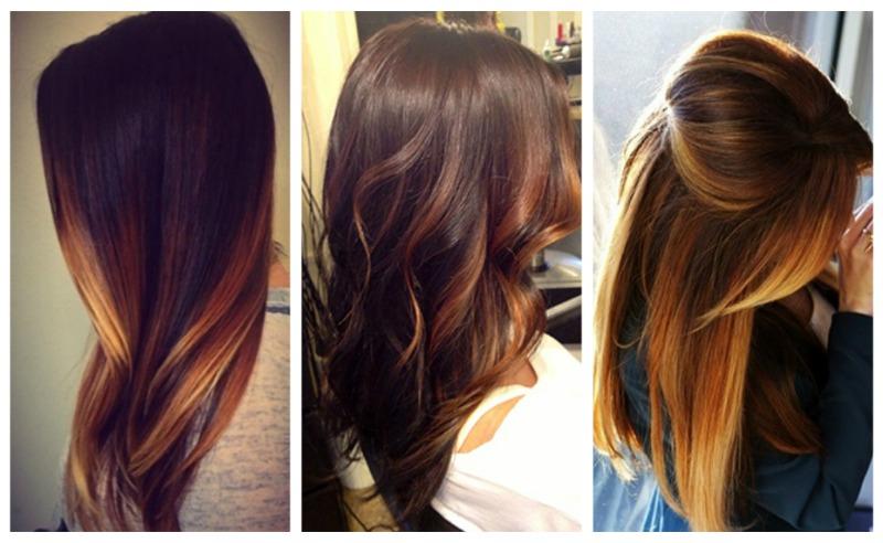 покраска волос мода 2016 фото
