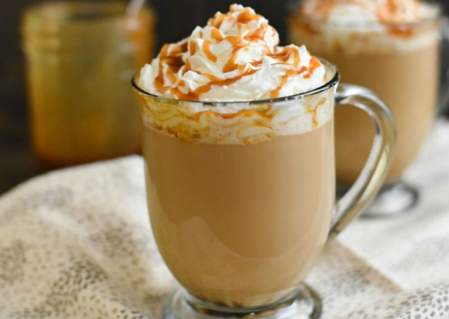кофе крем брюле