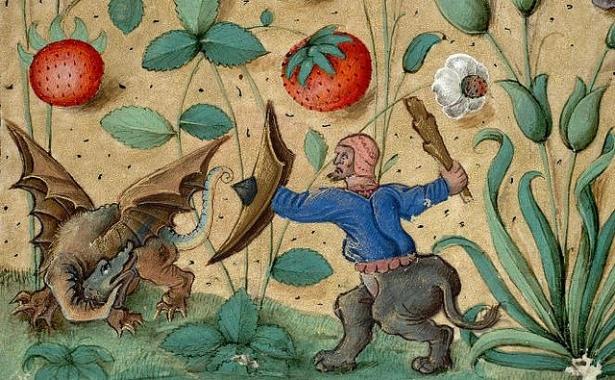 средневековой иллюстрации