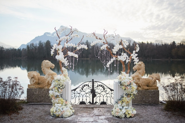 свадьба на открытом воздухе декор фото