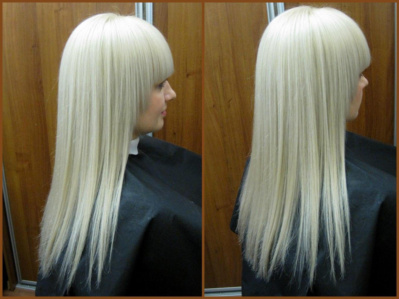 Окрашивание волос после осветления волос