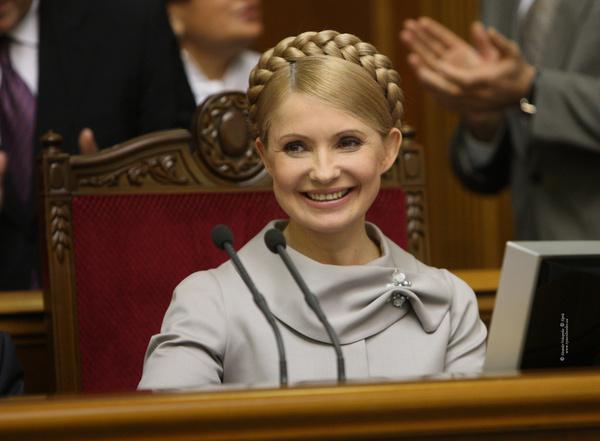 Прическа Юлии Тимошенко