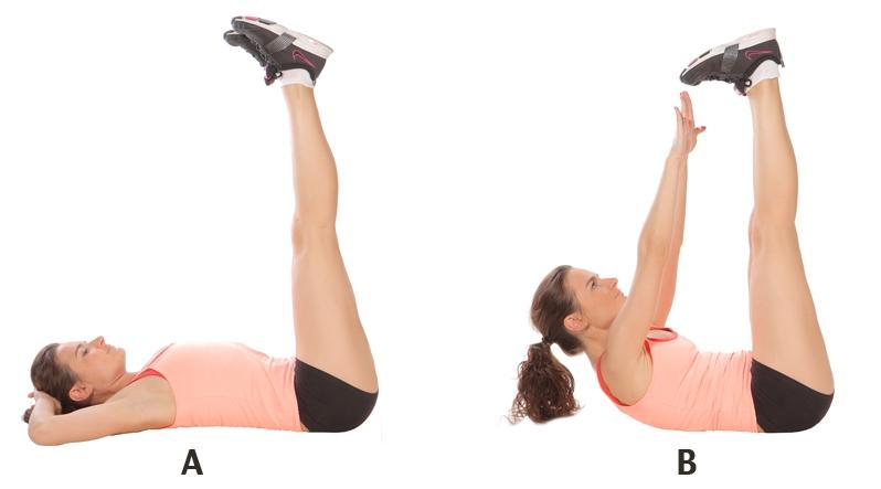 упражнения для похудения пресс
