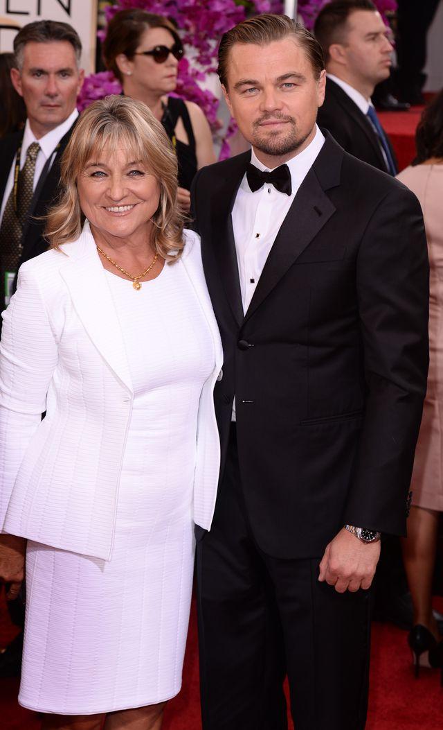 ДиКаприо с мамой