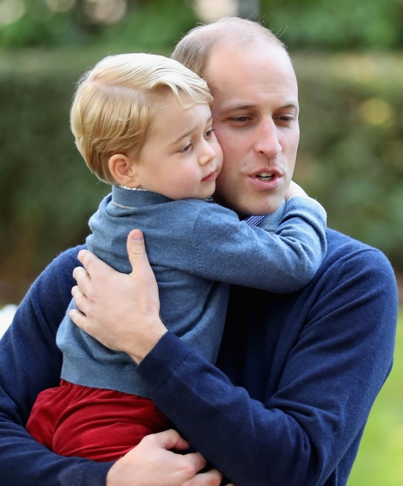 принц уильям и принц джордж фото