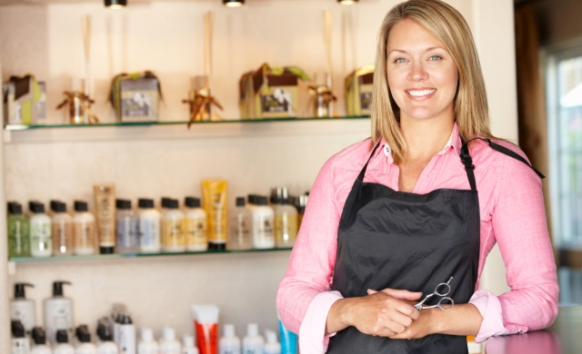 неподвластной Бизнес для женщин в маленьком городе Там