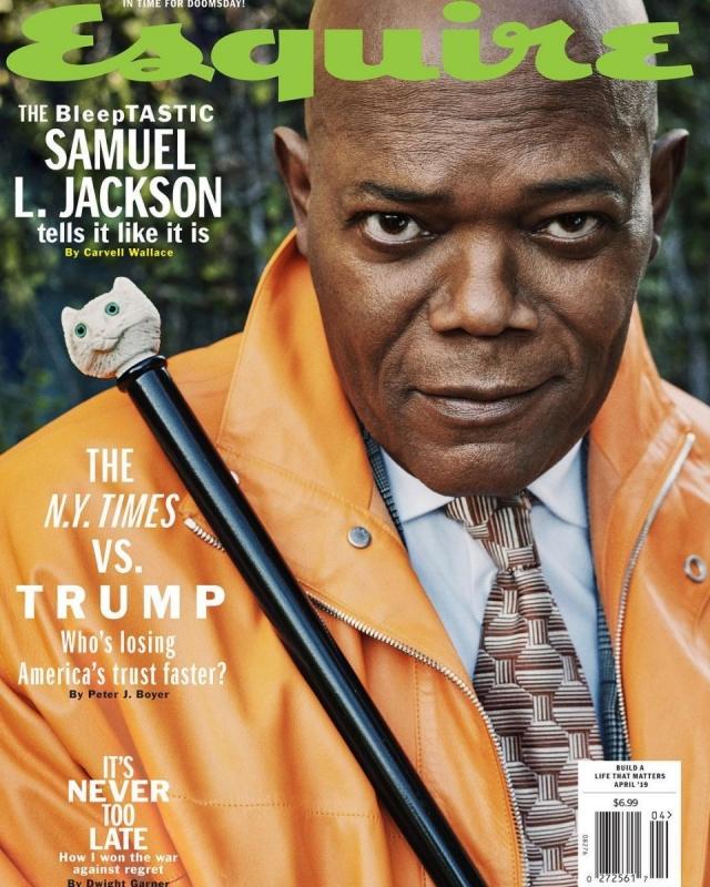 Сэмюэл Л. Джексон дал интервью: о карьере в Голливуде и отношении к хейтерам (ФОТО)