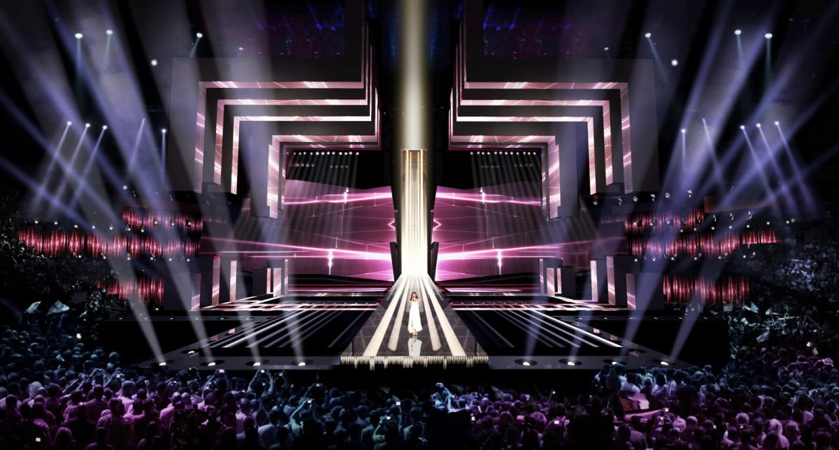 сцена на Евровидение 2016