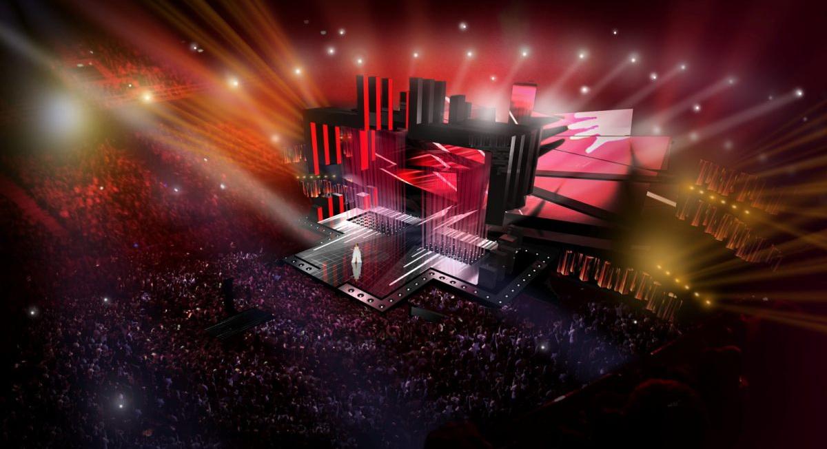сцена на Евровидение 2016 фото