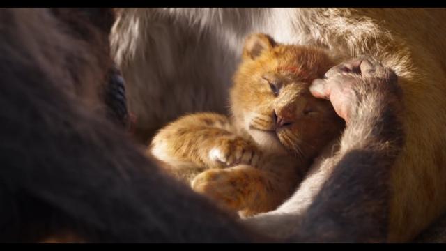 ремейк король лев 2019