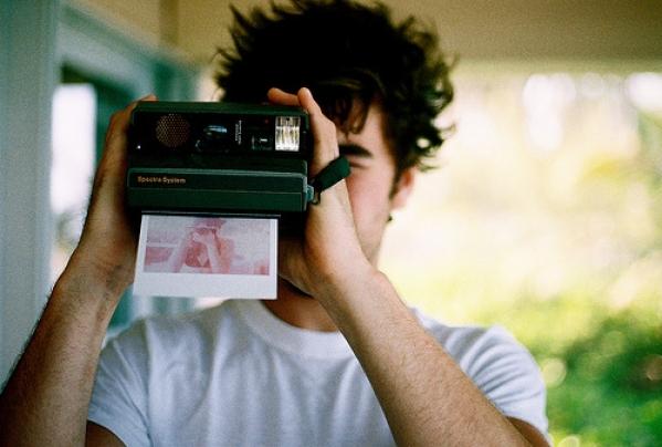 парень с камерой фото