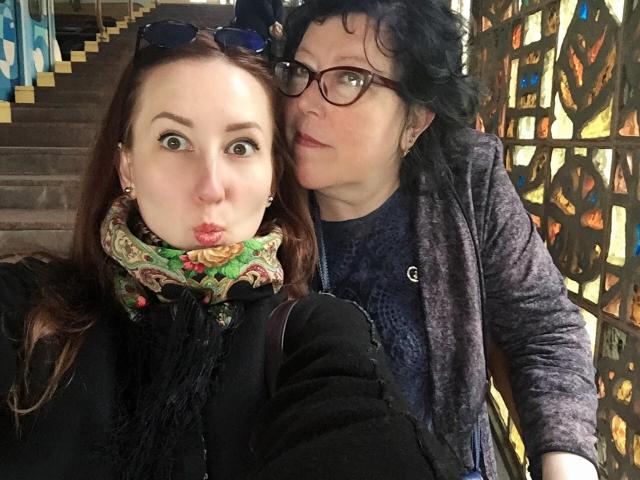 анна иваненко с мамой фото
