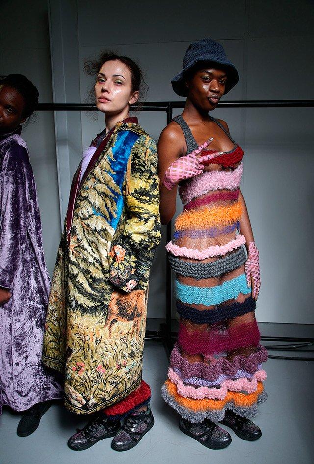 Наши в Лондоне-2: показ Яны Червинской на London Fashion Week