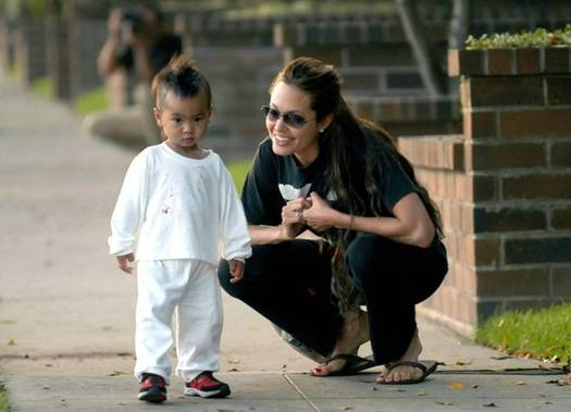 первый сын Джоли