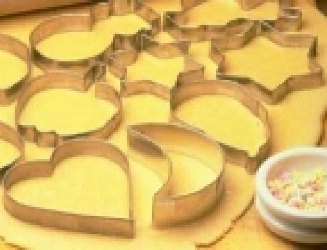 Ванильное песочное тесто