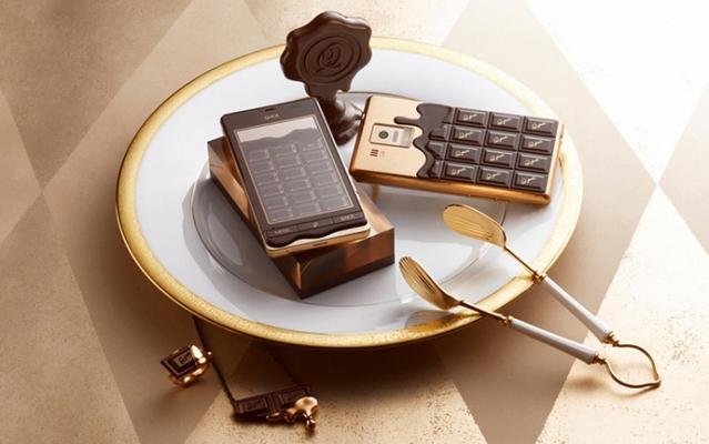Ко Дню Валентина выпущен шоколадный смартфон 1 картинка