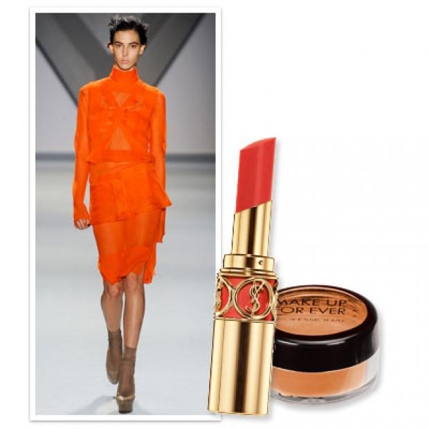 Cosmopolitan - Осень 2012: главные оттенки в макияже.