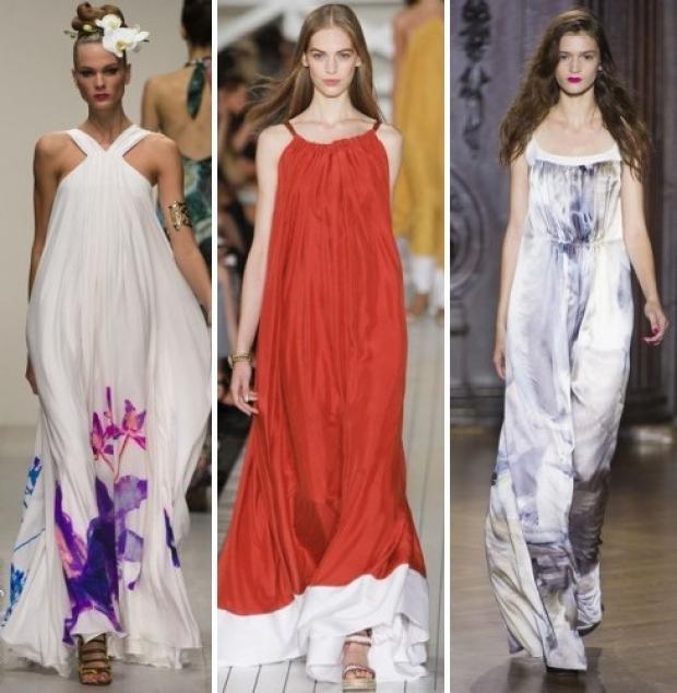 Модные Длинные Сарафаны