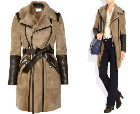 Модели пальто 2012
