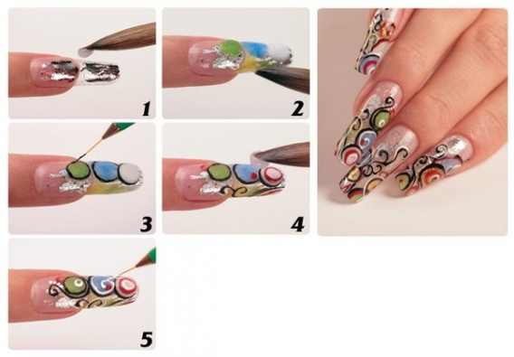 Конкурсы на рисунки на ногтях