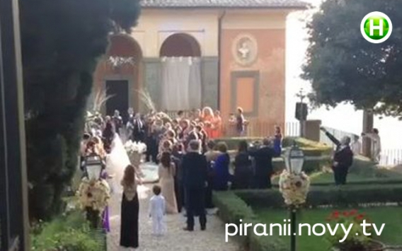 Свадьба Санты Димопулос (фото)