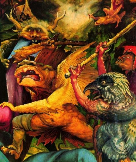 Топ 10 самых страшных картин великих