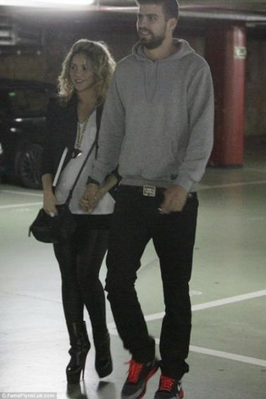 Как в настоящее время смотрится беременная Шакира? Фото