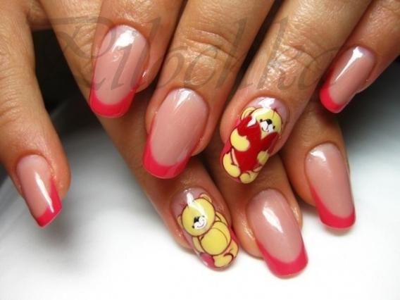 Дизайн ногтей на день св.валентина
