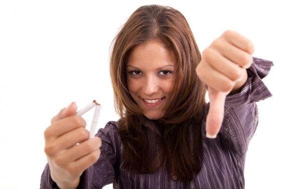 как реагируют волосы когда бросаешь курить