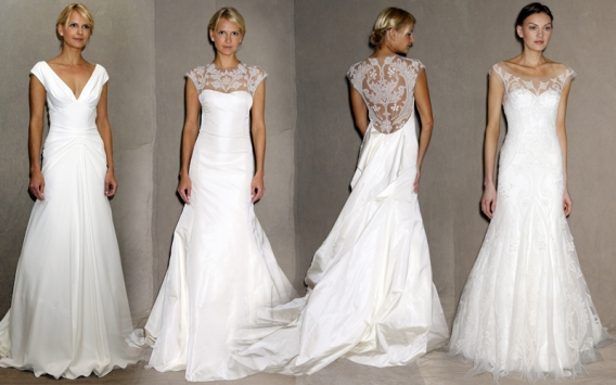 Фото мода свадебные платья