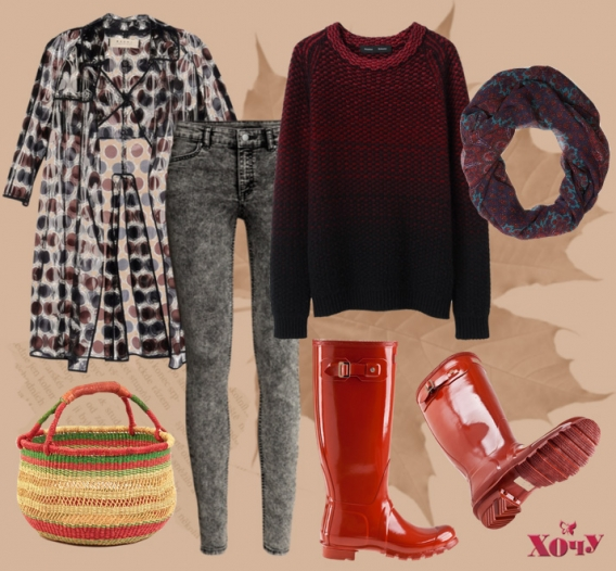 Что одеть в лес осенью