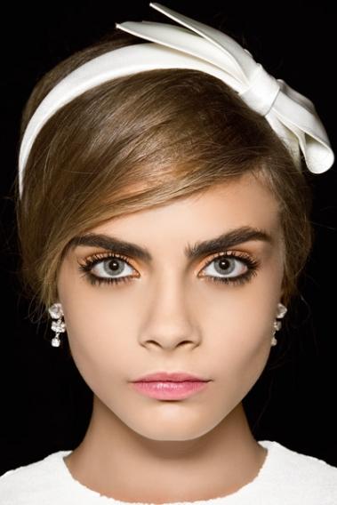 макияж кары делевинь поэтапно фото