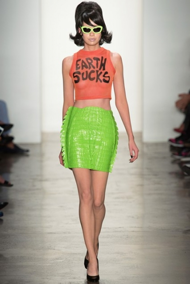 Тренд сезона весна-лето 2014: надписи и слоганы на одежде - photo#36