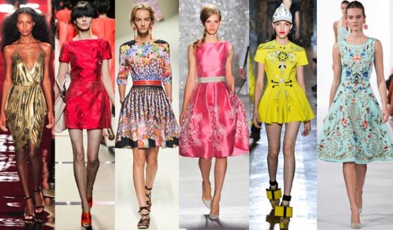 Модные платья сезона весна-лето 2014