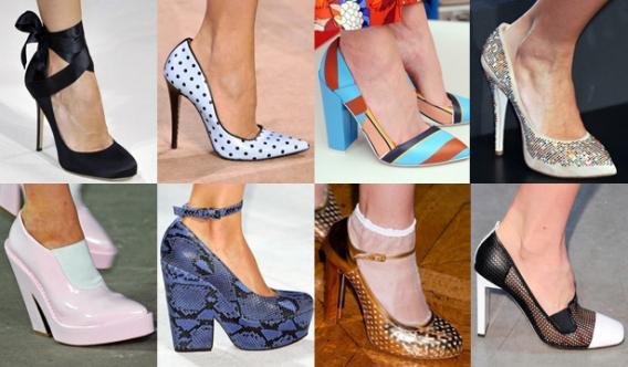 Модные Туфли Сезона Весна 2014