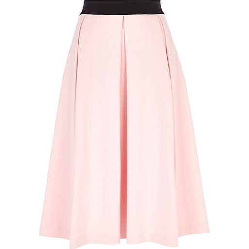 Модные юбки в стиле нью лук