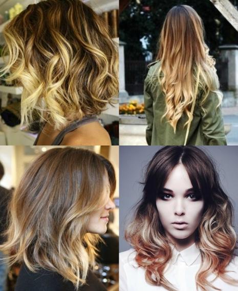 Фото окраски волос