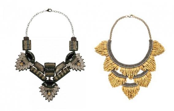 Бриллианты уже не моде: ожерелья Deepa Gurnani