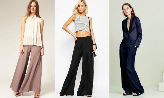 О широких брюках замолвите слово: где купить, с чем носить