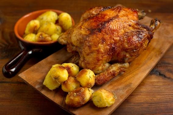 Все буде смачно 11.06.2015: запеченная курица с лимонным маслом