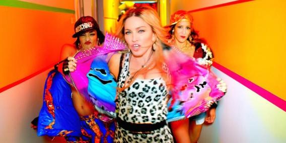 Чем на этот раз вызвала скандал Мадонна: развратная вечеринка с Бейонсе, Кэти Перри, Майли Сайрус и Ники Минаж