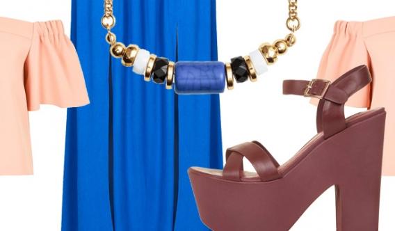 С чем носить юбку макси летом: 5 готовых образов