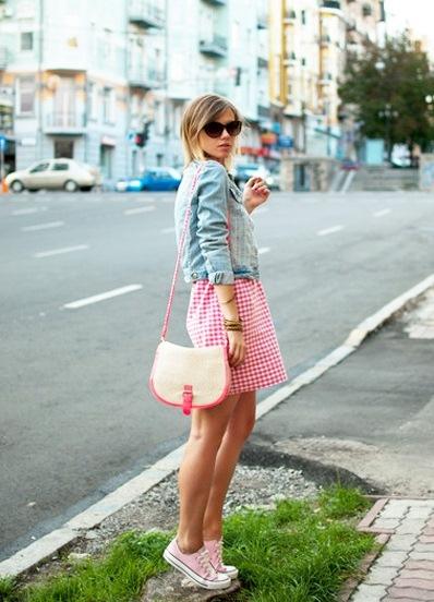 Фотосессия в платье юбке
