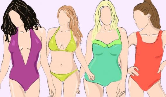 Как выбрать купальник по типу фигуры