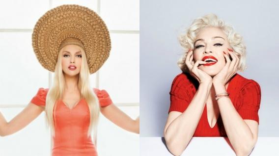 Мадонна выставила в Instagram фото Оли Поляковой: что объединило звездных блондинок