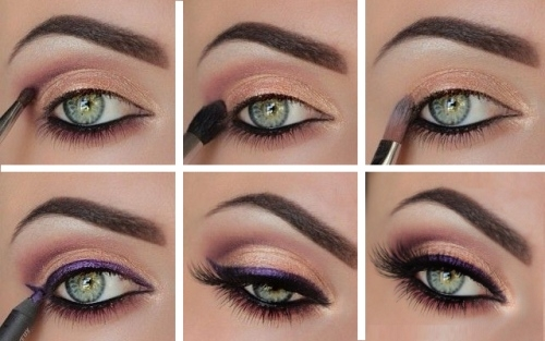 Как сделать макияж для домашней фото